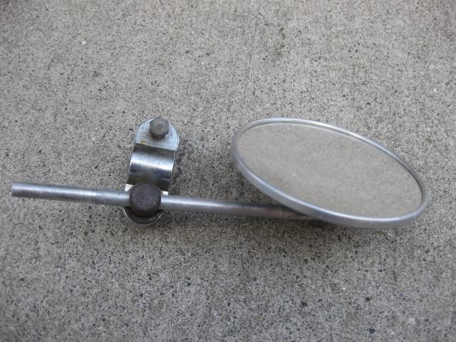 5インチミラーw/クランプ