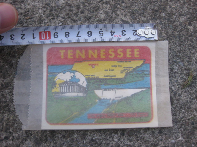 水貼りデカール テネシー