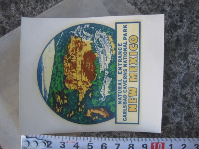水貼りデカール ニューメキシコ